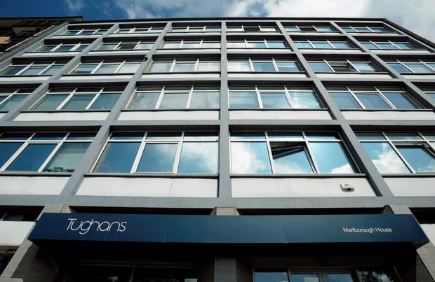 The offices of Tughans solicitors