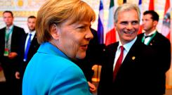 Chancellor Merkel wants the EU to help Balkan countries with the influx of refugees