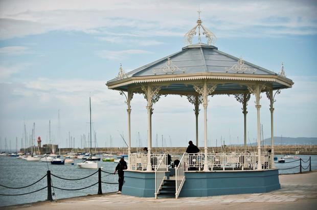 Dún Laoghaire Pier - 'cruise ships can quickly erode a small town's local colour and culture'