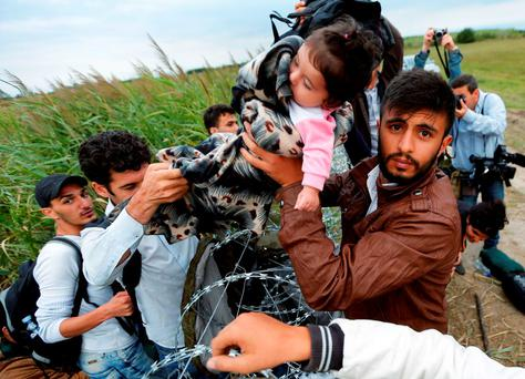 We have given them the name of 'migrants', but they are mothers and fathers, sisters and brothers, children and infants.