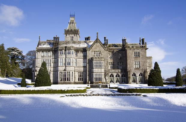 Christmas, Adare Manor in the Snow.jpg