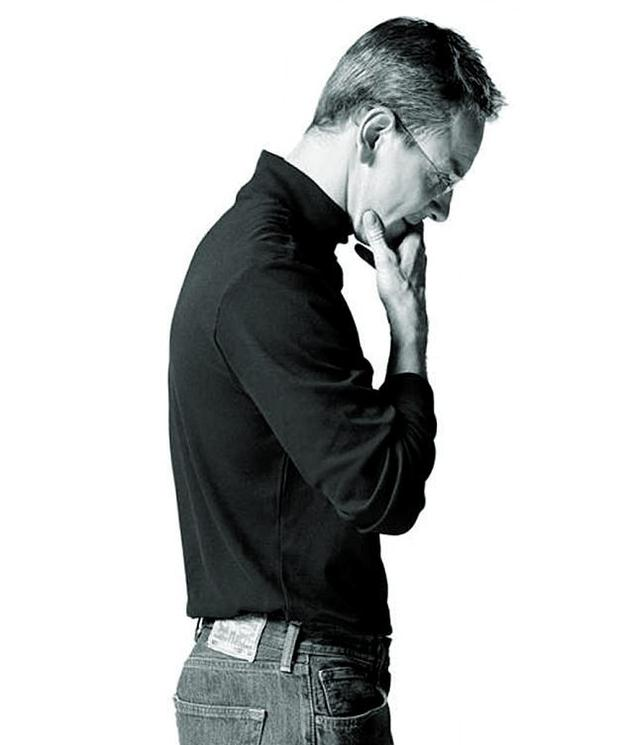 The first official poster of Michael Fassbender as Steve Jobs