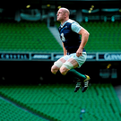 Paul O'Connell is ready to jump into action against Wales today, when he plays his last game for Ireland on home soil
