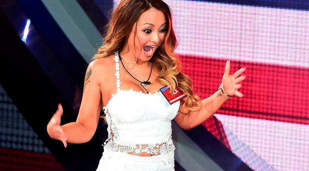Tila Tequila arrives at the start of the latest series of Celebrity Big Brother at Elstree Studios,