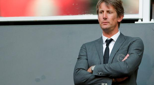 Ajax director Edwin van der Sar (Photo by VI Images via Getty Images)
