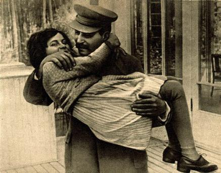 A survivor: Svetlana took her mother's maiden name, Alliluyeva after the death of her father, Josef Stalin, in 1953