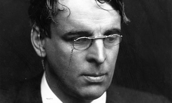 WB Yeats. Photograph: George C. Beresford