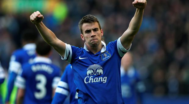 Seamus Coleman of Everton (Photo by Clive Brunskill/Getty Images)