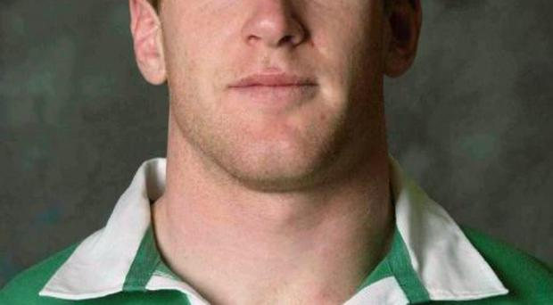 13 May 2003; Paul O'Connell, Ireland. Rugby. Picture credit; Brendan Moran / SPORTSFILE *EDI*