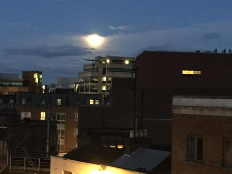 The 'Supermoon' in Dublin