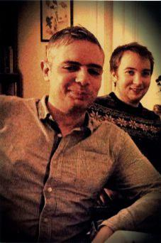 Daniel with his brother Marcus