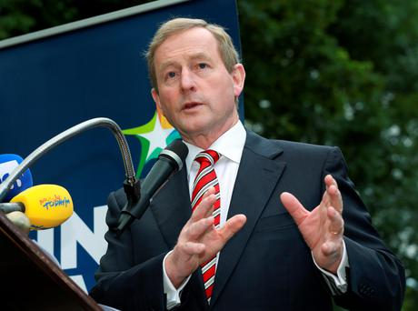 CHASING THE DRAGON: Taoiseach Enda Kenny needs to beware of the red monster in his midst as economic woes in China may scupper his giveaway budget