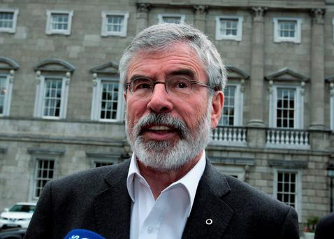 Gerry Adams thought it was a