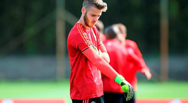 David De Gea's future at Manchester United is unclear