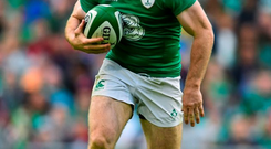 15 August 2015; Gordon D'Arcy, Ireland. Rugby World Cup Warm-Up Match. Ireland v Scotland. Aviva Stadium, Lansdowne Road, Dublin. Picture credit: Ramsey Cardy / SPORTSFILE