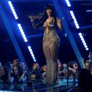 Nicki Minaj accepts the award for best hip hop video for