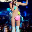 LOS ANGELES, CA - AUGUST 30: Host Miley Cyrus speaks onstage during the 2015 MTV Video Music Awards at Microsoft Theater on August 30, 2015 in Los Angeles, California. (Photo by Kevork Djansezian/Getty Images)
