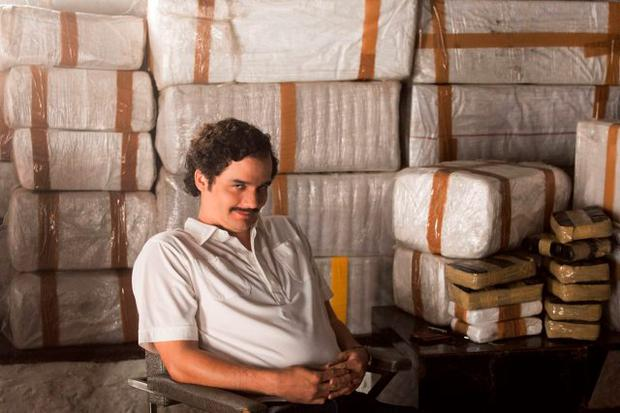 Wagner Moura as Pablo Escobar in the Netflix Original Series Narcos