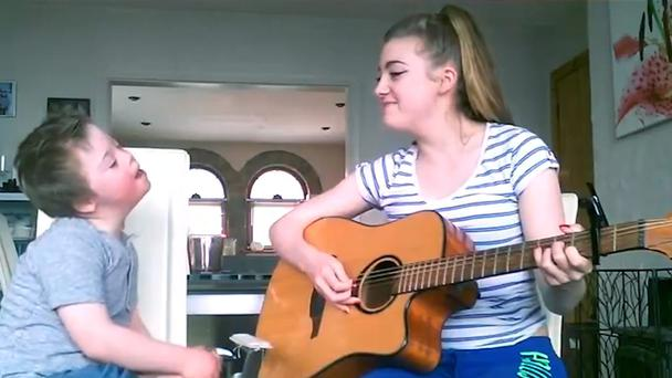 Adorable Video Shows Irish Sister Serenade Her Little -8338