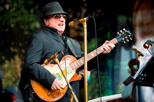 Handout photo of Van morrison performing on Cyprus Avenue as part of the East Side Arts Festival