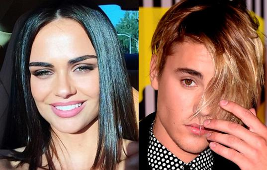 Xenia Deli and Justin Bieber