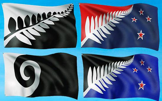 The four flag finalists that could replace New Zealand's current flag