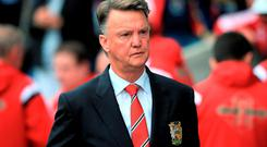 For Van Gaal, it seems runners beyond the ball are a no-no