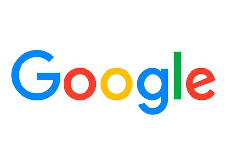 Google handout photo of the new Google logo
