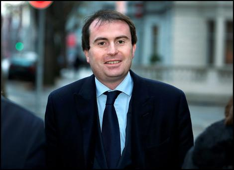 Arrested by appointment: Fine Gael TD Sean Conlan