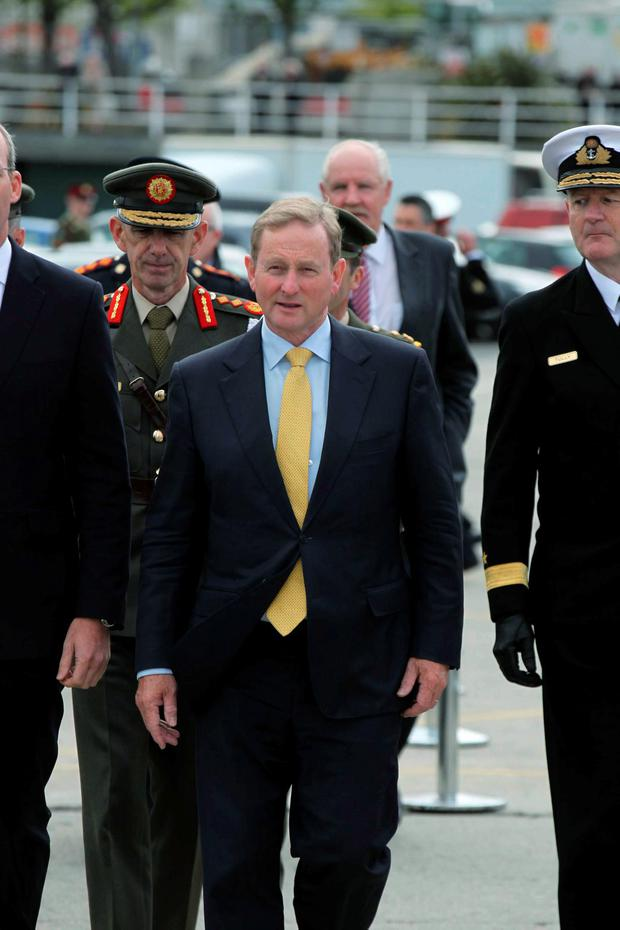 The report has effectively cleared Enda Kenny of sacking Callinan