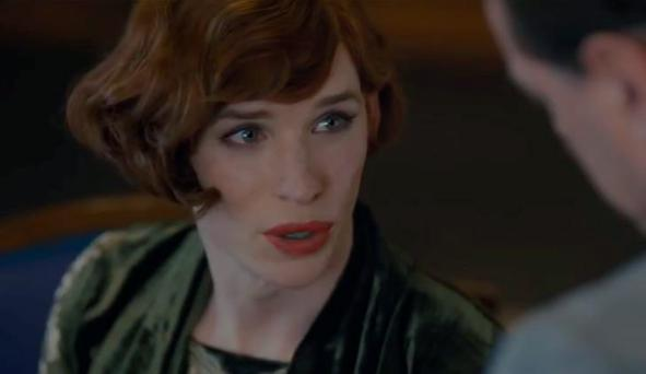 Eddie Redmayne in The Danish Girl trailer