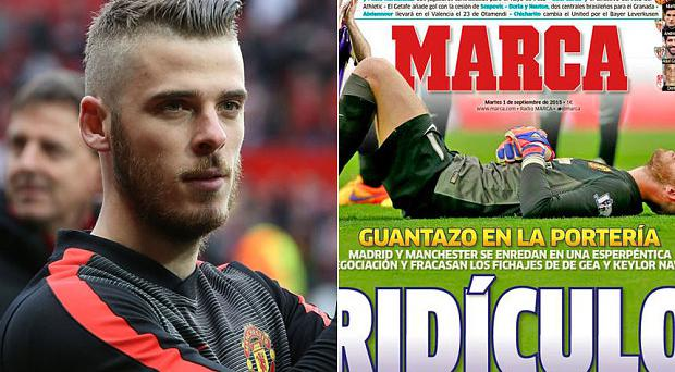 How Marca have reacted to David De Gea's up in the air transfer