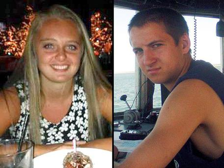 Michelle Carter and her boyfriend Conrad Roy Credit: Facebook