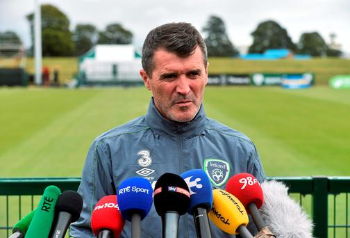 Roy Keane: it helps Walter's confidence that clubs are interested in him