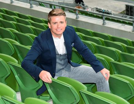TV3 Autumn Schedule Launch 2015/2016 at The Aviva Stadium, Dublin, Ireland - 02.09.15. Pictures: Cathal Burke / VIPIRELAND.COM **IRISH RIGHTS ONLY** *** Local Caption *** Brian Ormond