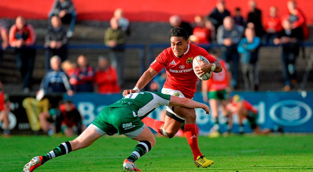 Francis Saili is exactly the sort of centre Munster have been crying out for