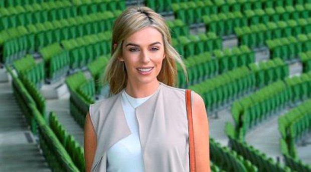 Tv3 Autumn Schedule launch at the Aviva Stadium Dublin Pippa O'Connor