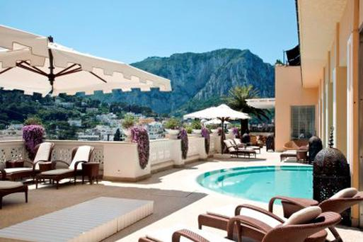 Grown up getaway: Tiberio Palace in Capri promises friendly five-star concierge service