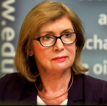 Education Minister Jan O'Sullivan, who yesterday announced new Leaving Certificate grade bands