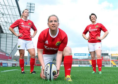 Munster's Siobhan Fleming, and Niamh Briggs, Ciara Griffin ready for action