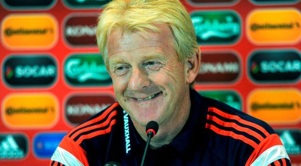 Head coach of Scottish national football team Gordon Strachan