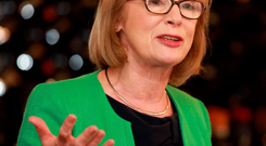 Education Minister Jan O'Sullivan unveiled the revised Common Points Scale yesterday