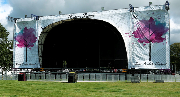 The main stage at Electric Picnic in Stradbally this weekend