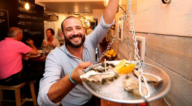 Niall Sabongi of Klaw The Seafood Café