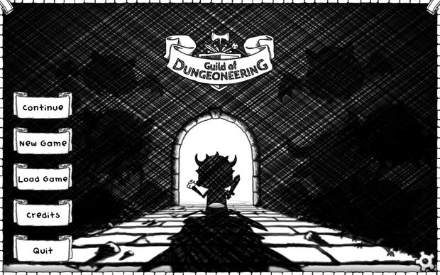 Guild of Dungeoneering: kooky hand-drawn art style