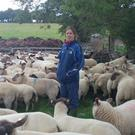 Louise Mahony on her family farm in Laois