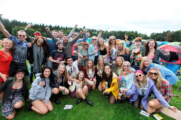 04/09/15Music Fans pictured arriving to Electric Picnic in Stradballly this afternoon?Pic Stephen Collins/Collins Photos