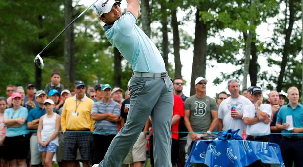 Jason Day was the Big One of golf's new Big Three in the first round of the Deutsche Bank Championship at TPC Boston yesterday