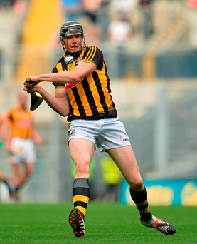It's likely Kilkenny will send either Walter Walsh (pictured) or TJ Reid to the edge of the square from the throw-in in an attempt to further haunt a full-back line that couldn't cope with Seamus Callanan in the All-Ireland semi-final
