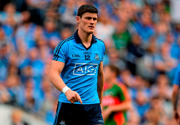 Diarmuid Connolly after being sent off for striking Lee Keegan in last Sunday's drawn semi-final